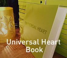 Universal Heart postcards